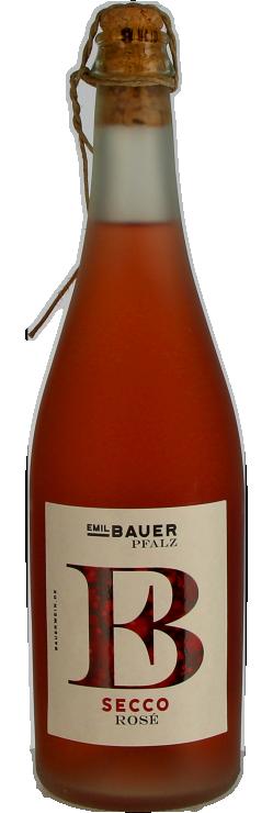 Bauer Secco rosé 0,75 l