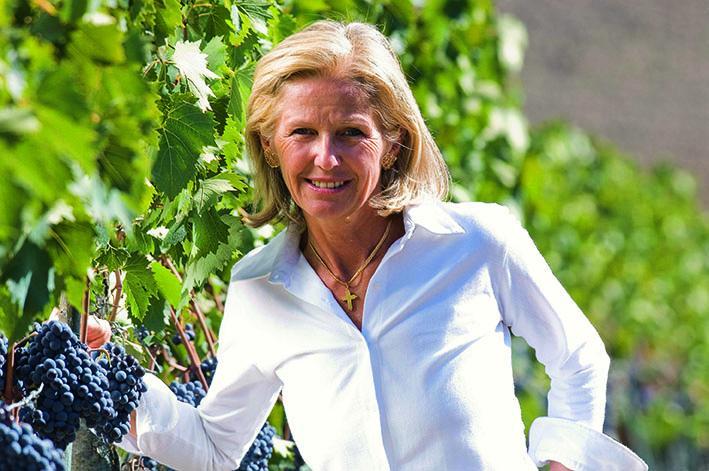 Elisabetta Gnudi-Angelini vom Weingut Caparzo