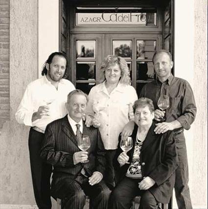 Familie dal Cero vom Weingut Ca dei Frati