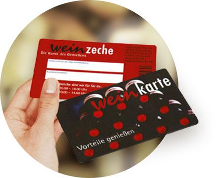 Gutscheine sichern mit unserer neuen Kundenkarte!