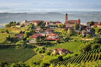 Treiso im Piemont
