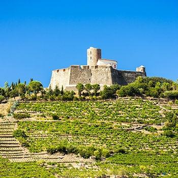 Saint Elme Forteress (Languedoc-Roussillon)