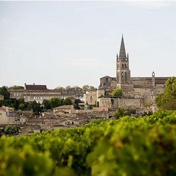 Saint-Émilion in der Gascogne