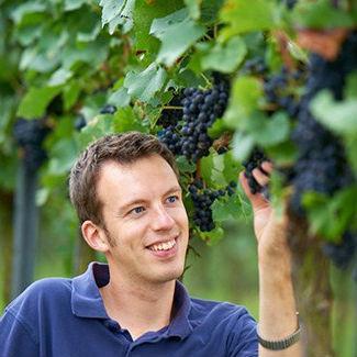 Florian Fauth vom Weingut Seehof