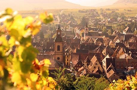 Weinregion Elsass